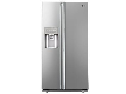 Side By Side Kühlschrank Günstig Kaufen : Lg gs 5163 pvmv side by side kühlschrank kühlteil 365 l gefrierteil