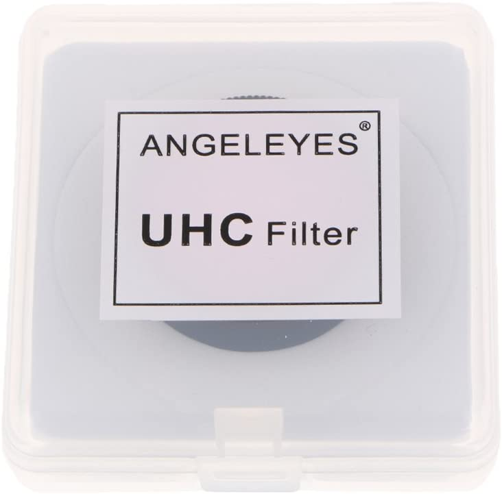 Optical 1.25 UHC Light Pollution Reduction Filter for Telescope Eyepiece