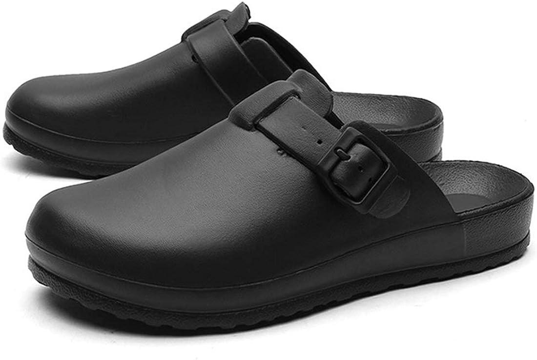 Jiyaru Men Women Work Clog Slip Resistant Nurse Chef Shoes