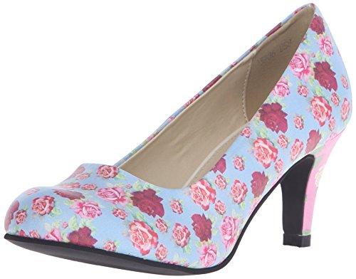 Shoes k Antipop u Floral Pastel Colour Women's Heels T Multi qExvPwU5U