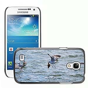 GoGoMobile Slim Protector Hard Shell Cover Case // M00124713 Seagull Halibut Flounder Turbot Sea // Samsung Galaxy S4 Mini i9190