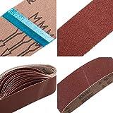 STUHAD 3 x 21 Inch Sanding Belts, 24pcs Belt Sander
