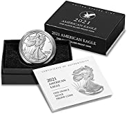 2021 W Type 2 American Silver Eagle 1 Ounce Coin in OGP with CoA Dollar Proof
