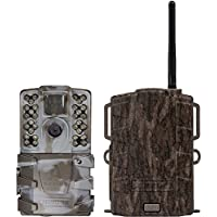 Moultrie A35 14MP 60 HD Video LowGlow IR Game Trail Camera + Mobile Field Modem