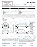 2 Part Vehicle Transport Bill of Lading Form