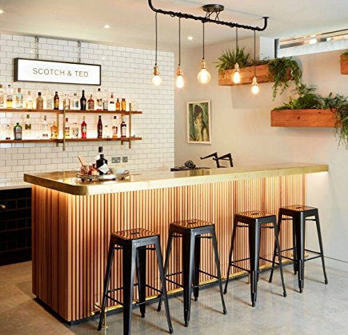 Interior Design Ideas Home Bar: 26 Inch Backless Metal Counter Height Bar Stools (set Of 4