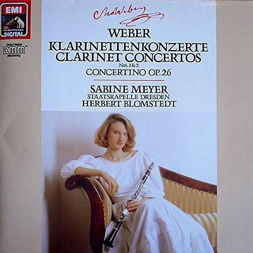 Price comparison product image Carl Maria von Weber - Sabine Meyer ,  Staatskapelle Dresden ,  Herbert Blomstedt - Klarinettenkonzerte / Clarinet Concertos Concertino - Emi - 13 729 9