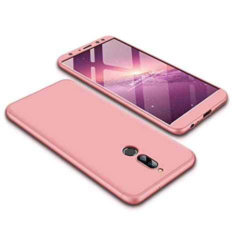 Funda Huawei Mate 10 lite,Carcasa Huawei Mate 10 lite,Funda 360 Grados Integral Para Ambas Caras+Cristal Templado,[ 360°]3 in 1 Slim Fit Dactilares ...