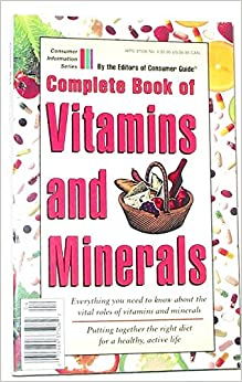 Complete Book of Vitamins and Minerals