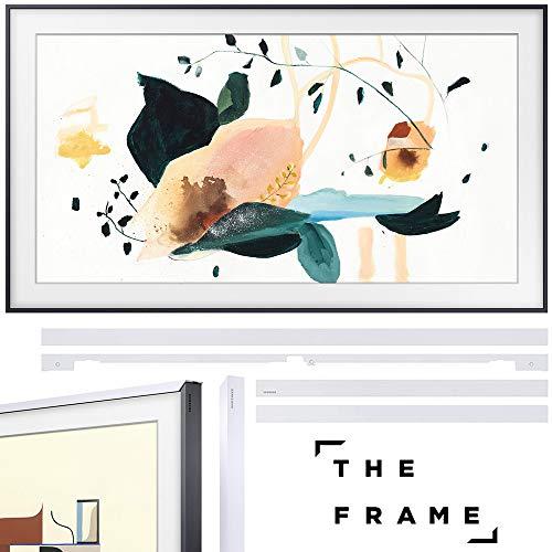 🥇 SAMSUNG QN43LS03TAFXZA The Frame 3.0 43 inch QLED Smart 4K UHD TV 2020 Model Bundle 43 inch The Frame Customizable Bezel 2020 White
