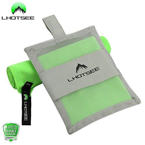 LHOTSEE Microfiber Compact Antibacterial Fitness