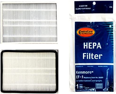 EnviroCare Replacement Kenmore Vacuums Using The EF-1 2 Filters, White