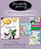 Colorful and bright artwork with Butterflies and Birds provides hope and encouragement! includes four brilliant art collages with four color interiors and a touch of scripture. Card a front: Sing your song joyfully page two: blessed is the pe...