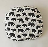 Lounger Cover - Black Bears
