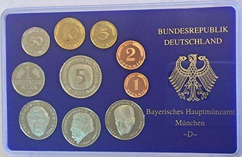 - DE 2001 2001 D Germany Deutsche Mark Coin Set Special Edi Good