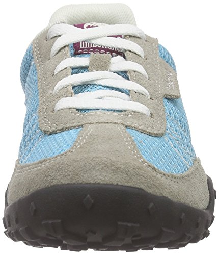 Timberland Greeley_Greeley Low - Zapatillas Mujer Azul - Blau (Lite Tan/Blue)