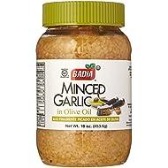 Badia Minced Garlic in Olive Oil 16 oz Pack of 3