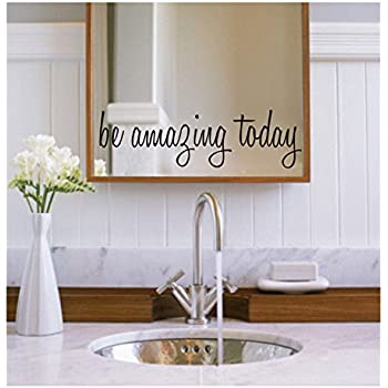 YINGKAI Youre Beautiful Quote Mirror Decal Vinyl Decal Living - Custom vinyl decal application instructionshow to apply wall decals windafurniture