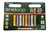 8 Pack Multi Use/Color Panasonic Eneloop Rechargeable Ni-HM AAA batteries – Eneloop tones expeditions Review