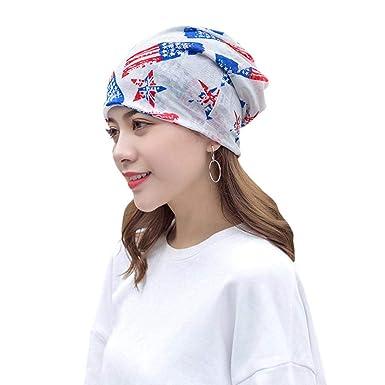 3b50cfbb6 Biback Pañuelo la cabeza Turbante Mujer apagado tapa para quimio, pérdida  de pelo, Sombrero de turbante para mujer Perdida de cabello Chemo Krebs  Cap: ...