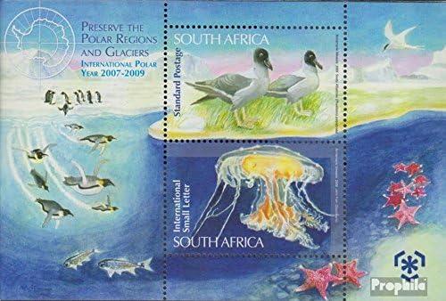 Sellos para los coleccionistas Completa.edici/ón. Prophila Collection Sud/áfrica Bloque 120 2009 protecci/ón el Polargebiete