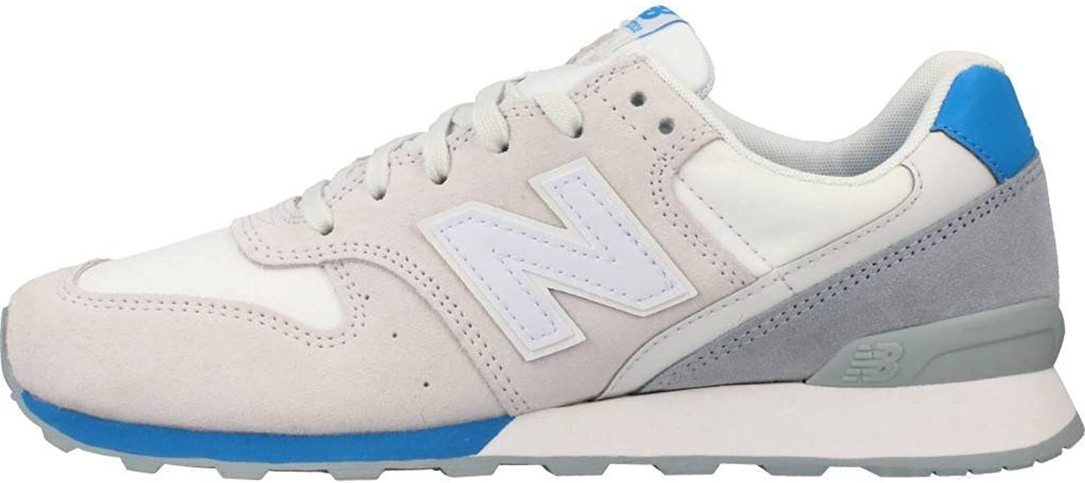New Balance Zapatillas 996 Lifestyle Hueso/Azul/Gris: Amazon.es: Zapatos y complementos