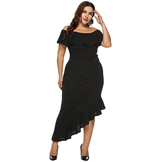 Amazon.com: Clearance Sale! Oliviavan Women Casual Plus Size ...