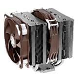 ID-COOLING SE-205K Twin Tower Heatsink Design with 5 Pieces 8mm Heatpipe, one 140mm and one 120mm PWM Fan with Noise Absorption & Copper Base, Nickle Plating Heatsink, Intel LGA2011/1366/115X/775 & AMD FM2(+)/FM1/AM3(+)/AM2(+)