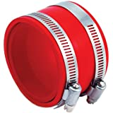 """Spectre Performance 9772 Red 4"""" Intake Coupler"""