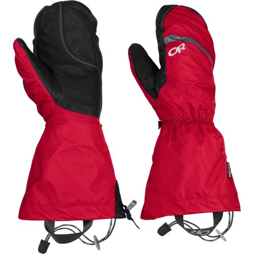 Outdoor Research Mens Alti Mitts, Chili, Medium