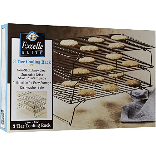 Wilton 2105-459 Excelle Elite 3-Tier Cooling Rack, 15 7/8