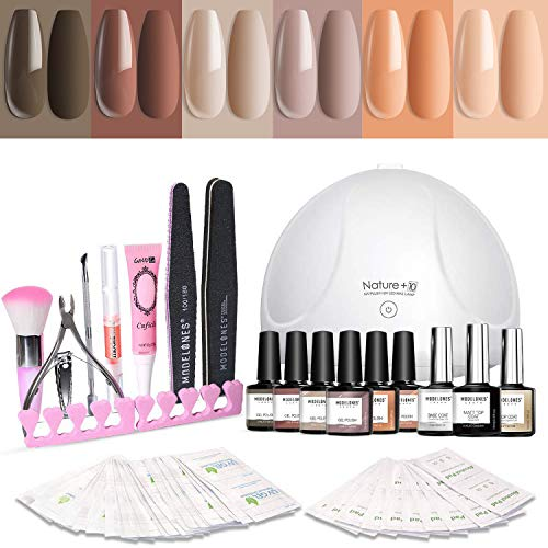 Modelones Starter Kit is the best Gel Nail Polish Kit with UV Light? Our review at totalbeauty.com uncovers all pros and cons.