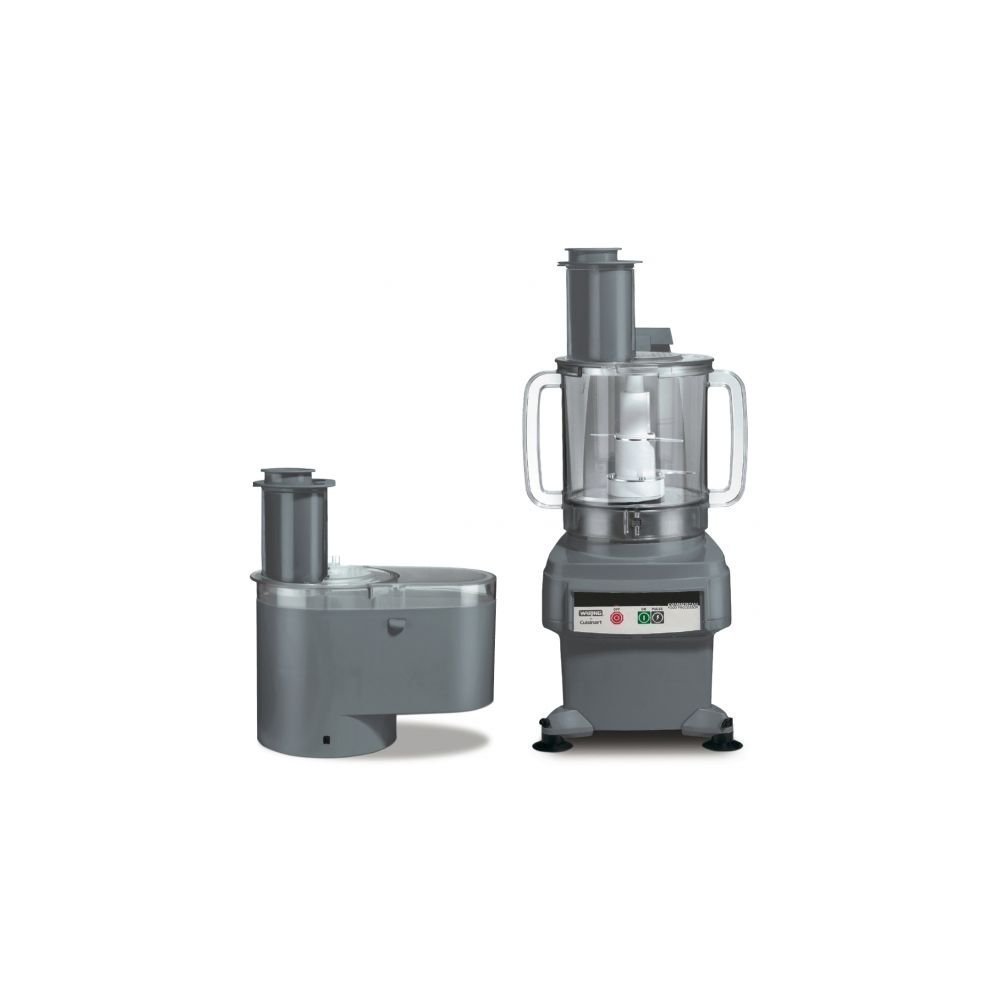"""Waring FP2200 6-Qt. Batch Bowl and Continuous-Feed Food Processor, 120V, 26.5"""" Height, 16"""" Width, 12"""" Length"""