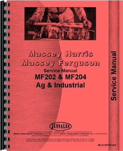 Massey Ferguson 202 204 Tractor Service Manual (MH-S-MF202,204)