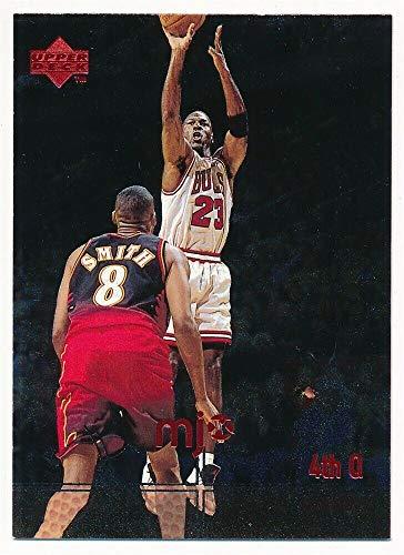 BIGBOYD SPORTS CARDS Michael Jordan 1998 UD Upper Deck MJX #130 Chicago Bulls 4TH QTR Highlights SPF5