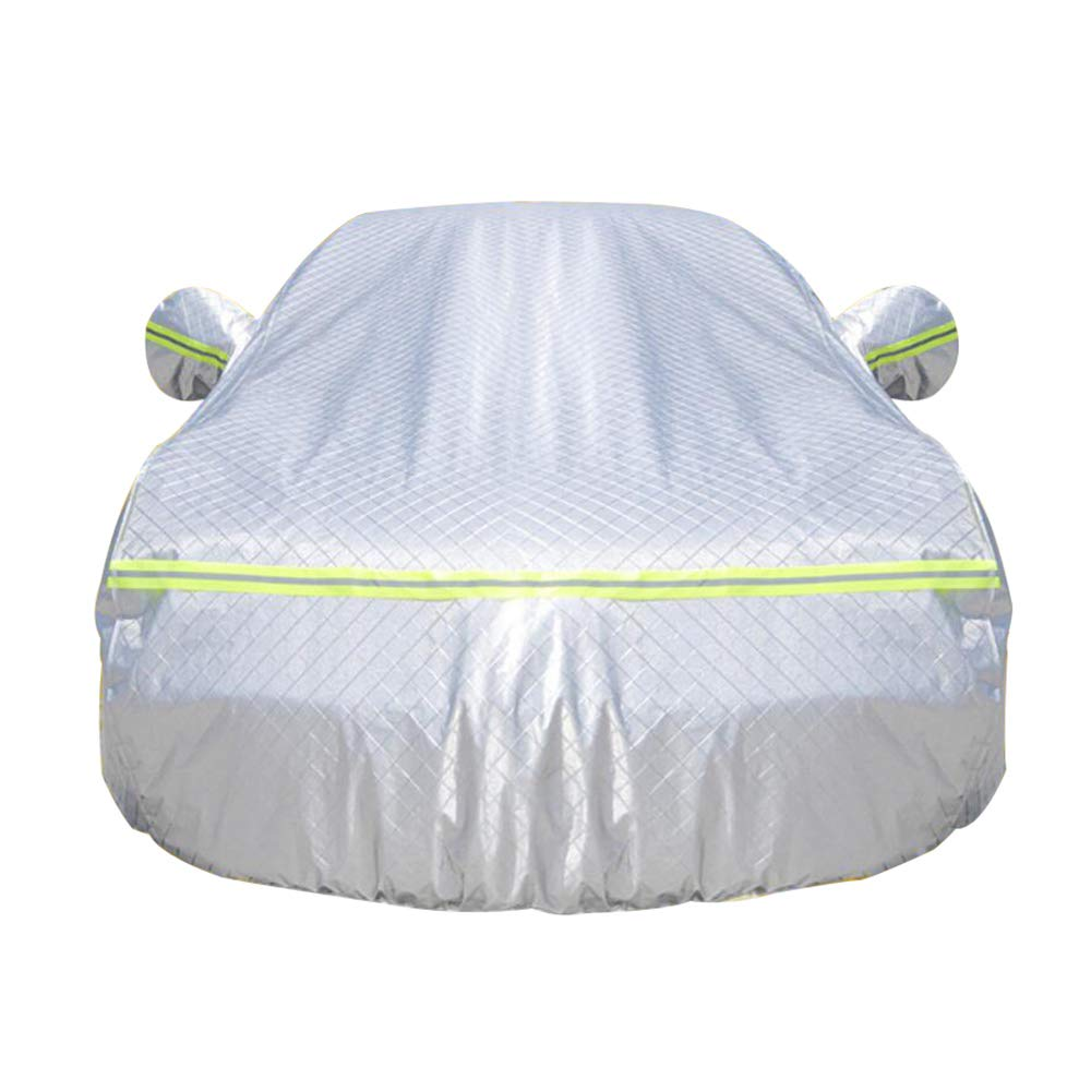 Captiva SAIL Camero Malibu Epica LOVA,Silver,Epica HFFTLH Night Vision Reflective Stripe car Cover Compatible with GM Chevrolet Series: Cruze Aveo