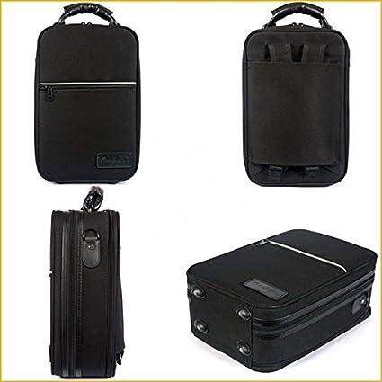 Amazon.com: ESTUCHE CLARINETE - Omebaige (BGR) Forma (Mochila) Exterior Nylon (Interior Terciopelo) 35x23x13: Musical Instruments
