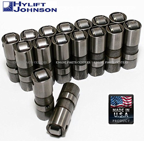 Hydraulic Roller Lifters Set of 16 for Chevy 1997-2016 GM vehicles with the LS 4.8L, 5.3L and 5.7L V8 engines LS6 (HYD Roller)