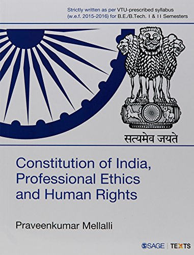 Constitution of India, Professional Ethics and Human Rights