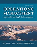 Operations Management: Sustainability and Supply Chain Management Plus MyOMLab with Pearson eText -- Access Card Package (12th Edition) by Jay Heizer (2016-01-31)