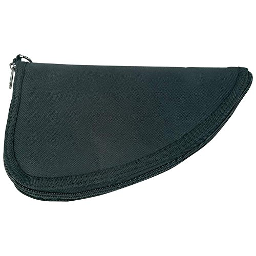 Classic Safari Black Pistol Rug, Keep Small Firearms Protected with This Compact, Affordable Gun Case, Large