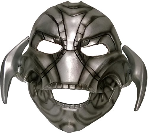 Rubie's Costume Co Men's Avengers 2 Age Of Ultron Adult Ultron Mask with Moveable Jaw, Multi, One Size