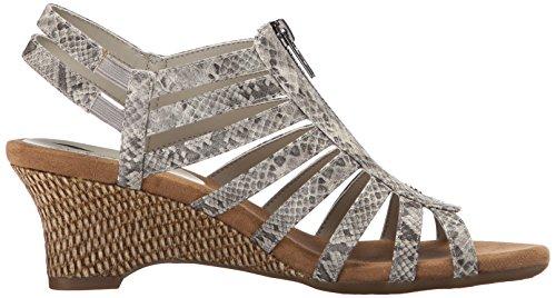Aerosoles Half Dozen Donna Larga Sintetico Sandalo con la Zeppa
