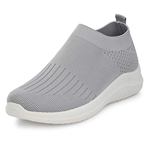 FLAVIA Women's Grey Running Shoes-(FKT/HD0234/GRY) Price & Reviews