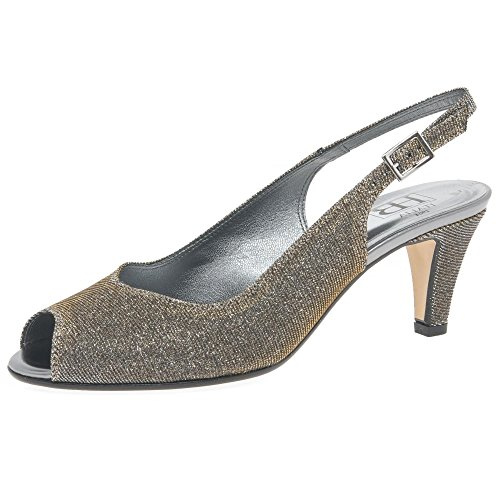 H&B HB Twinkle Womens Dress Sandals Metallic Sparkle uXj7jmBEG