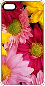 Flower Arrangement White Plastic Case for Apple iPhone 4 or iPhone 4s