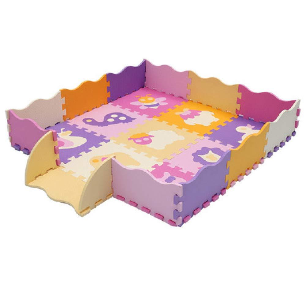 North King Baby krabbelmatte,Schaumstoffmatte Lernspielzeug Pad für frühe Bildung
