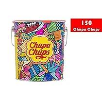 Chupa Chups 8402851 - Caramelo con Palo de Sabores Variados - L...