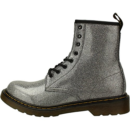 Dr. Martens Kid's Collection Womens 1460 Patent Glitter Toddler Brooklee Boot (Toddler)