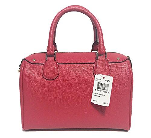 Bennett Bag Pink Handbag Coach Shoulder Mini Leather Bright 4vqOEqxp6w